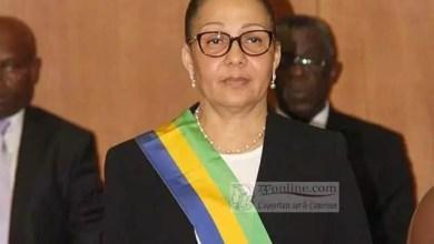 Photo de Lucie Milebou Aubusson nommé présidente du Gabon par intérim