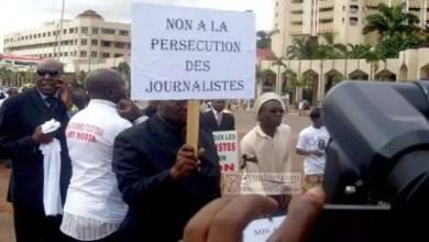 Greve des journalistes