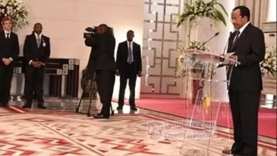 Photo of Cameroun: Discours de Paul Biya en réponse aux vœux du Corps diplomatique à Yaoundé le 09 janvier 2018
