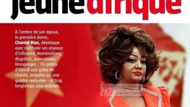 Photo of Voici pourquoi le media commando Jeune Afrique s'attaque à Chantal BIYA