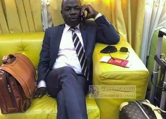 Amougou Belinga, PDG de Vision 4