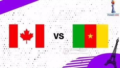 Photo of Mondial feminin 2019 : suivez en direct Cameroun – Canada