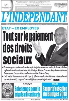 L'indépendant du 27 juin 2019