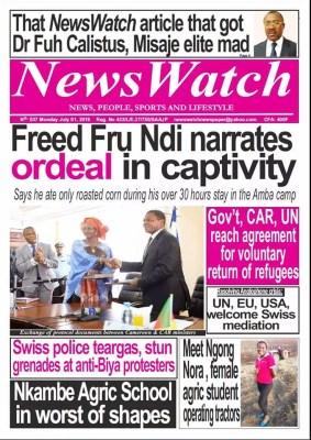 News Watch du 01 juillet 2019