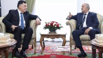 Photo de Le Président Algérien reçoit le Président Libyen Fayez Al Sarraj à Alger
