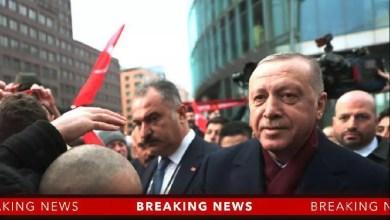 Photo de Recep Tayyip Erdogan réaffirme sa détermination à soutenir le Président Libyen Fayez Al-Sarraj