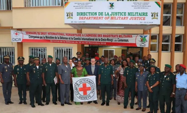 Justice militaire et CICR