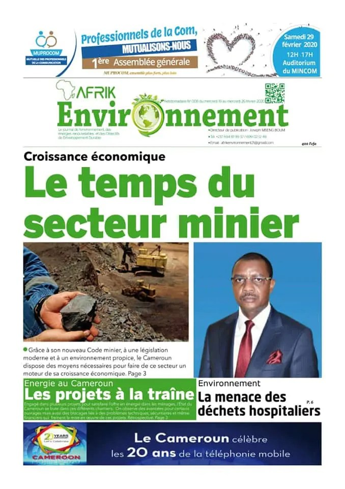 afrik environnement du 17 fevrier 2020