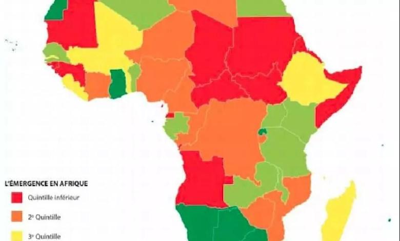 emergence en afrique carte