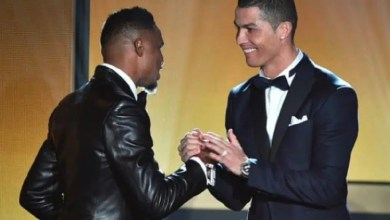 Photo of Cristiano Ronaldo ou Lionel Messi : Samuel Eto'o tranche…