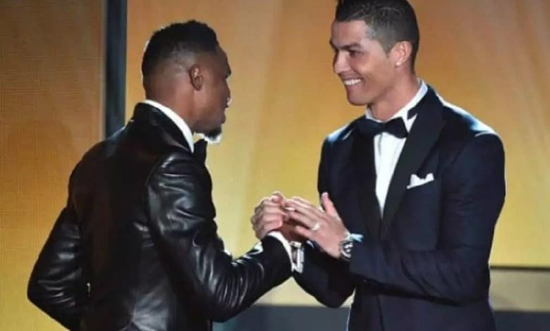 Samuel Eto'o et Ronaldo