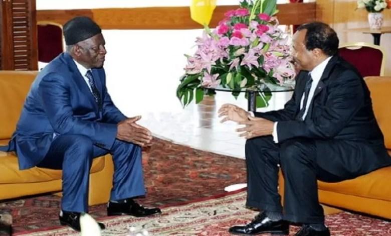 Paul Biya et Fru Ndi