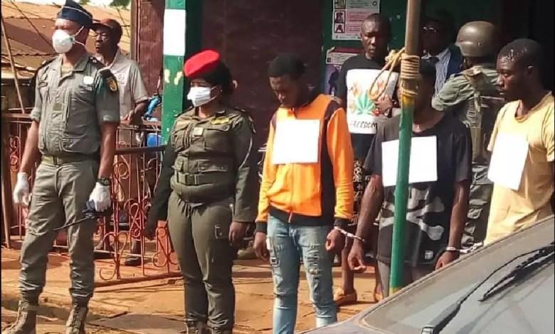 Arrestation faussaires