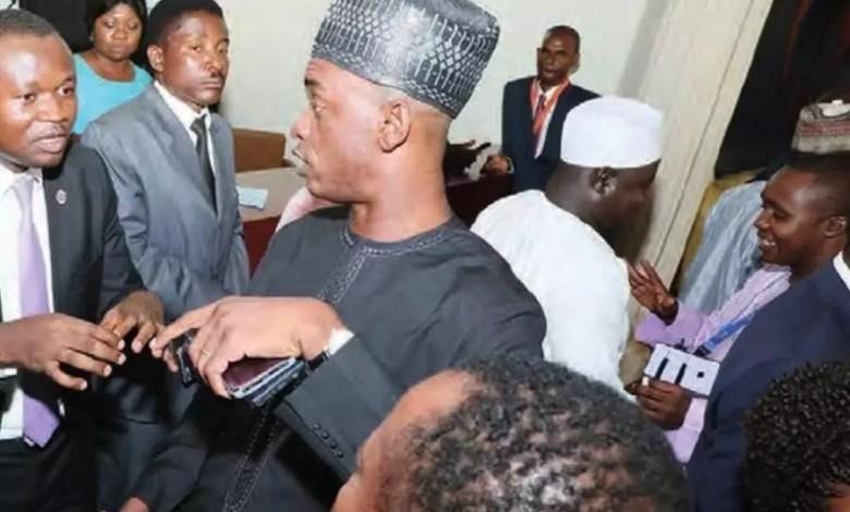 Cabral Libii à l'Assemblée nationale