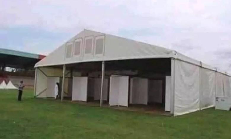 Stade militaire Yaoundé Covid-19