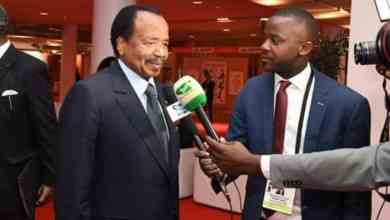 Ernest Obama interviewe le president Paul BIYA