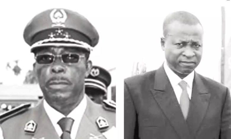 Ivo Desancio Yenwo et le capitaine Bouba Simala