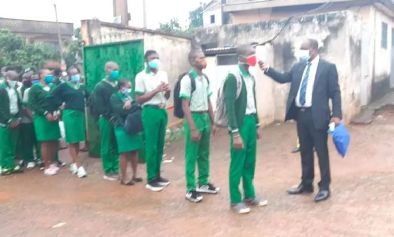 Rentréé Scolaire effective à Yaoundé ce 1er juin 2020
