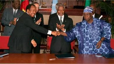 Accord de Greentree entre le Nigeria et le Cameroun sur Bakassi