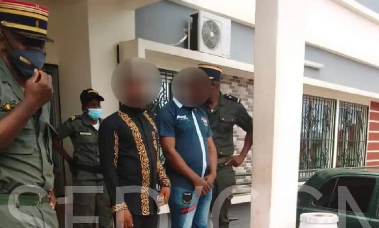 Arrestaion des voleurs