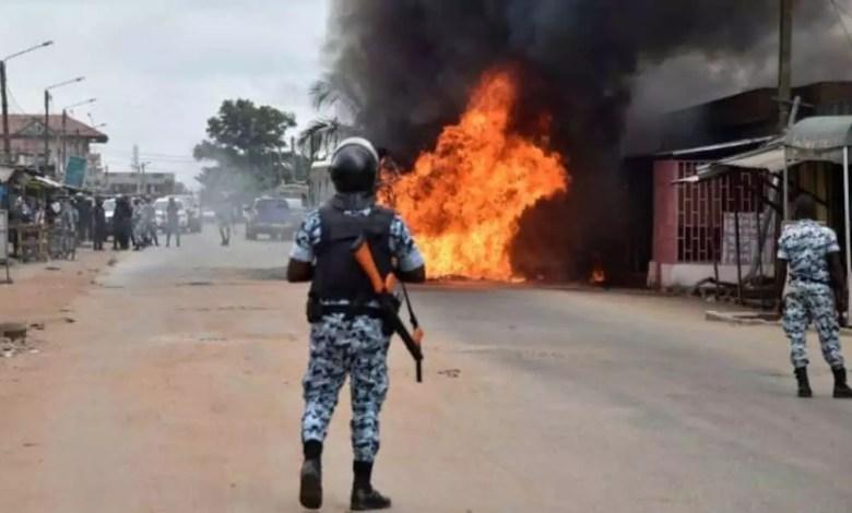 Troubles sociaux en Cote d'Ivoire