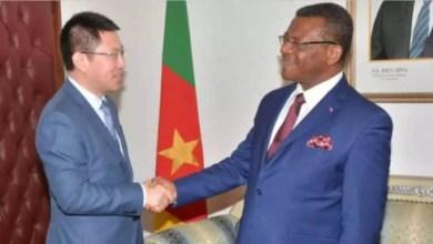 Huawei et PM camerounais