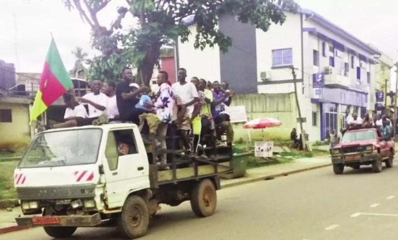 Marche du Rdpc à Ebolowa
