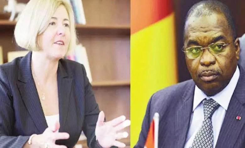 Le FMI et le Ministre Motaze