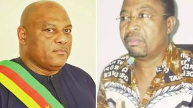 le député Benae et le sénateur Mba Mba