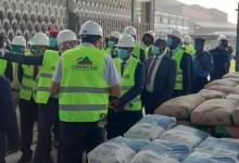Gabriel Dodo Ndoke visite Cimencam