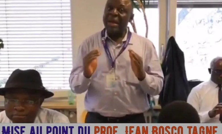 Pr. Jean-Bosco Tagne