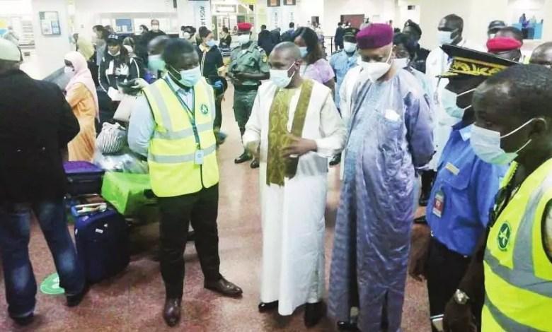 Manaouda Malachie dans les aéroports