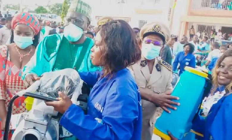 Les jeunes de Meyomessala recoivent des appuis