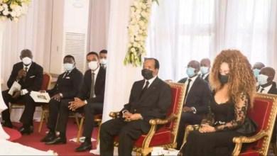 Paul Biya au deuil