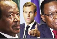 Paul BIYA, Macron et Kamto