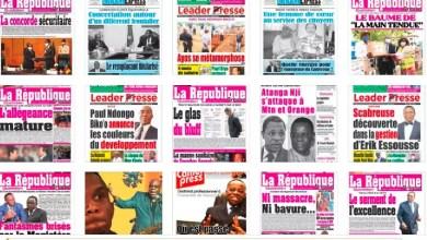 Quelques journaux camerounais