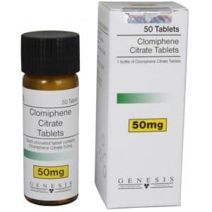 Clomiphene Citrate Tablets Genesis 50 tabs [50mg/tab]