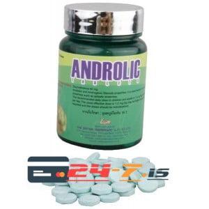 Androlic Tablets British Dispensary 100 tabs [50mg/tab]
