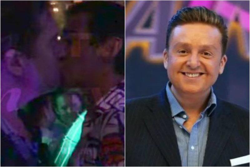Captan a Daniel Bisogno besando a otro hombre en un antro de la Zona Rosa (+video)