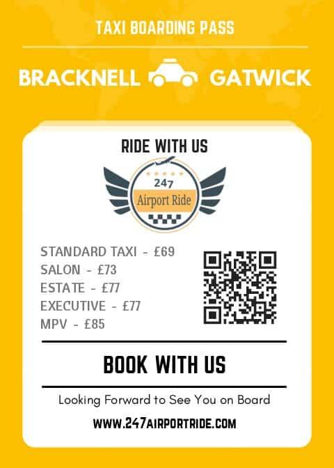 bracknell to gatwick price