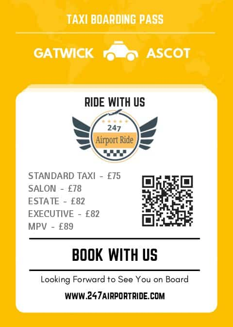 gatwick to ascot price