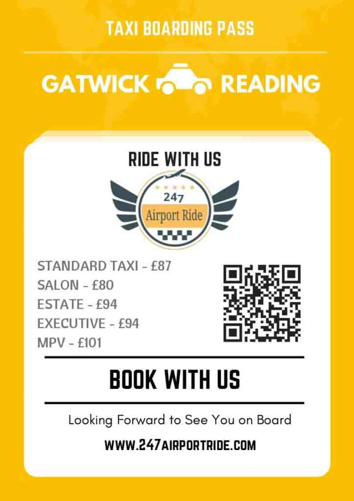 gatwick to reading price