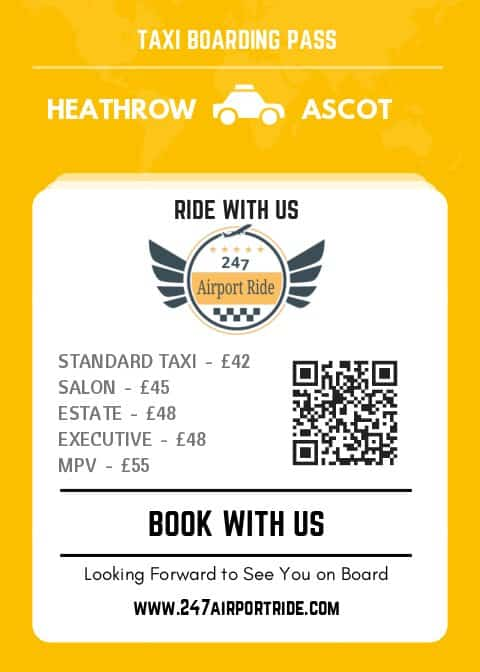 heathrow to ascot price