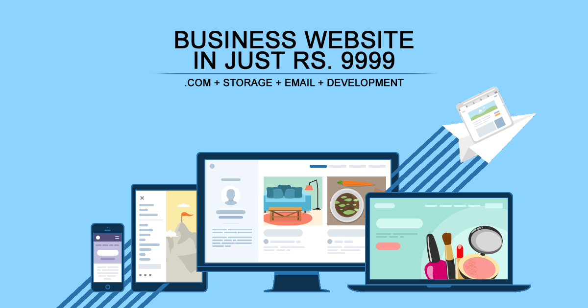 Business Website in Rs. 9999