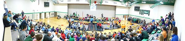 Panorama of FTC tournament.