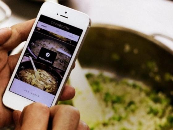 comida celular aplicación