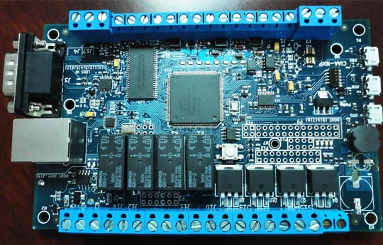 Plaqueta-CIAA computadora industrial argentina