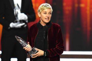 Ellen DeGeneres wins 3 People's choice awards