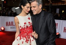 Photo of George and Amal Clooney Expecting Twins