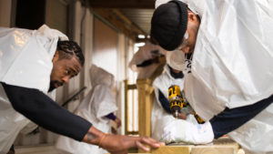 NBA Stars and Celebrities Pitch In on 10th Annual NBA Cares Day of Service
